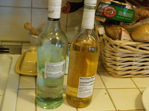 Bottles back