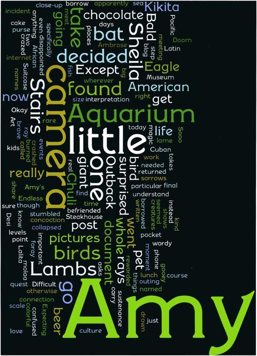 Aquarium wordle art002