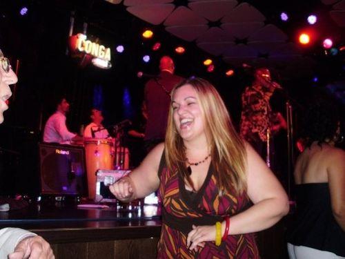 Amy dancing