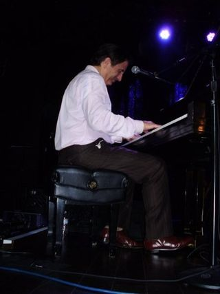 Andy on piano