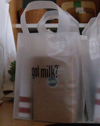 Got milk goodie bag