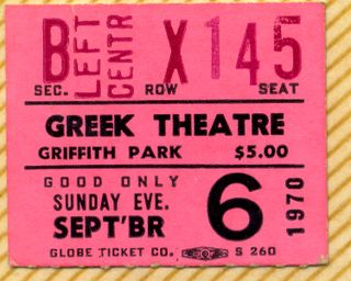 Greek theater ticket005