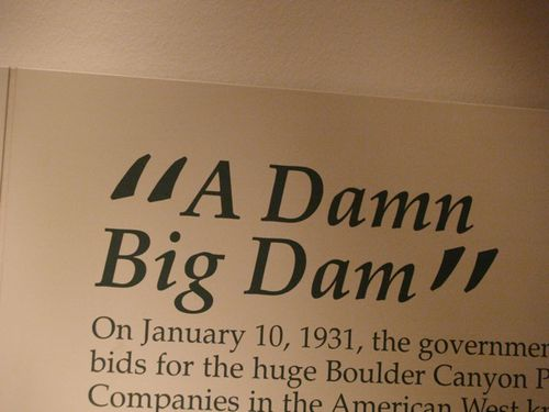 Dam big dam