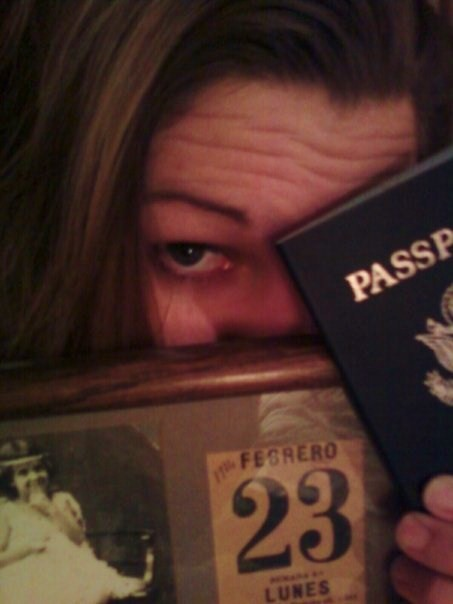 Kikita and the passport