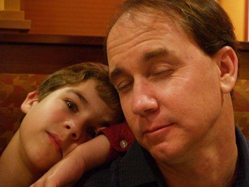 Jon & dad 06