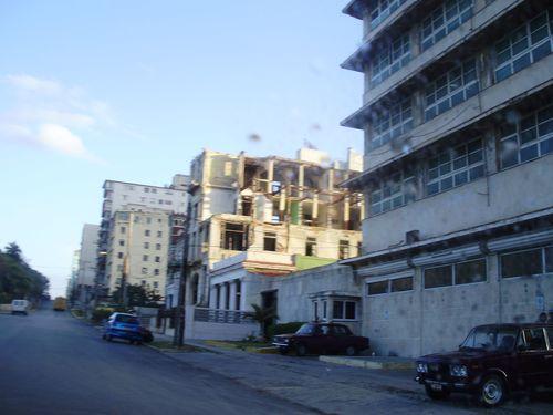 Across the street from Hotel Nacional
