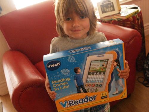 Ben with Vreader