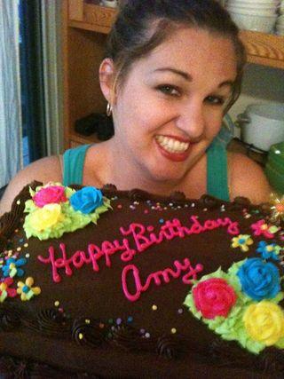Bday cake face