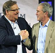 Warren & bush