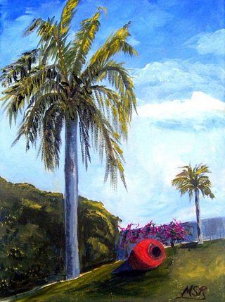 Palms & tinajon