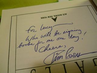 Tim Powers autograph