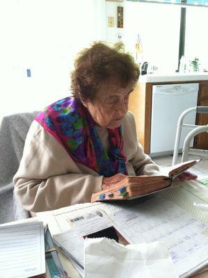Luza reading