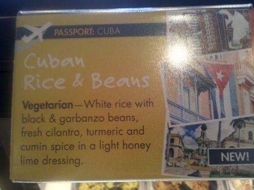 Cuban rice and beans description