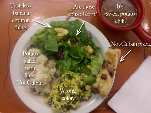 Souplantation cuban food plate