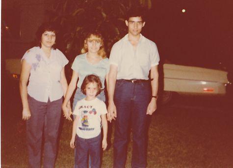 Miriam, Mireya, Ruben, me in Miami