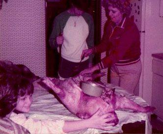 Pig roast mom