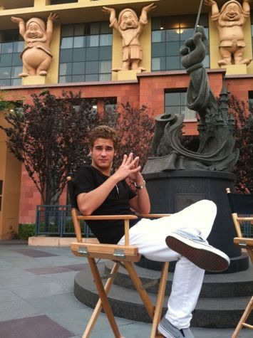 Jon at the Walt Disney studios