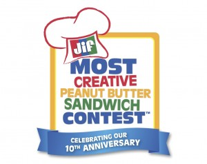 Jif Most Creative sandwich logo