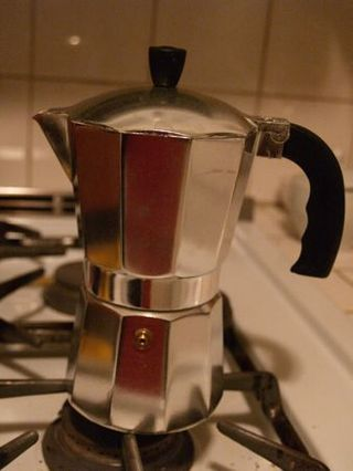 Cuban coffee maker