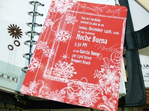 Nochebuena invitations 06