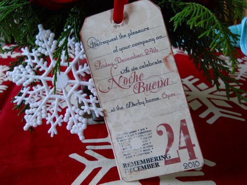 Nochebuena invitation 08