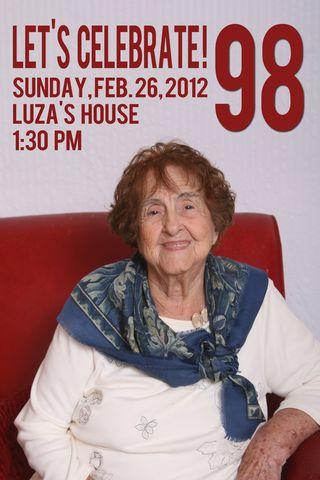 Luza invitation