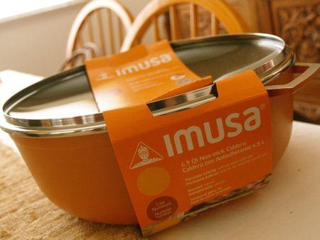 IMUSA USA orange caldero