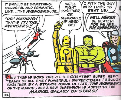 Avengers-never be beaten