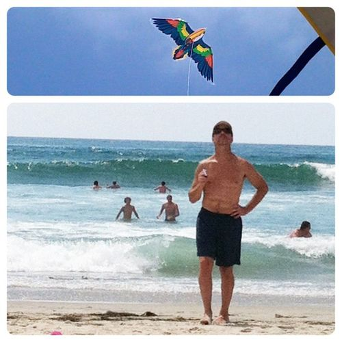 Eric and the kite