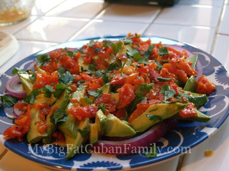 Avocado salad copy