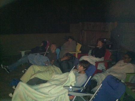 Movie night peeps
