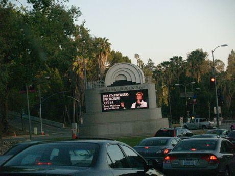Hollywood Bowl sign