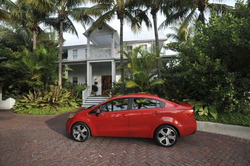 Kia rio at parrot key