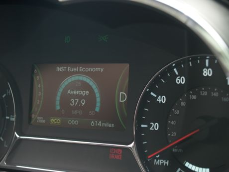 KIA Optima mileage