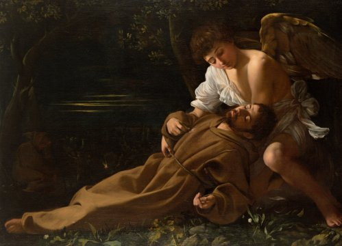 St francis of assisi in ecstasy