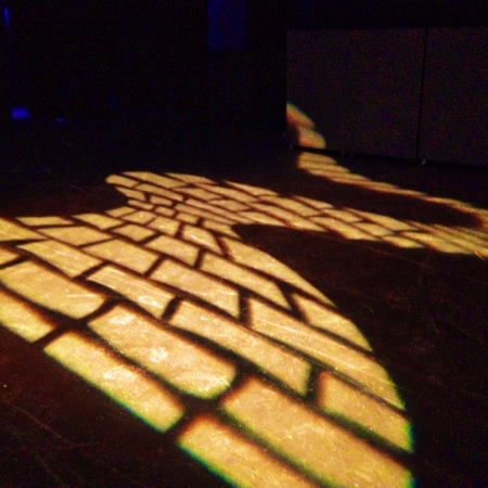 Yellow brick road gobo