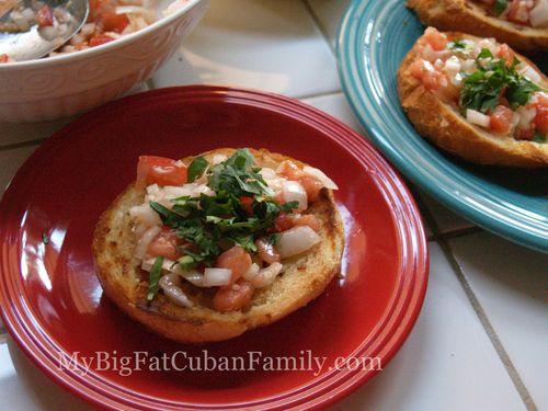 Cuban bruschetta copy