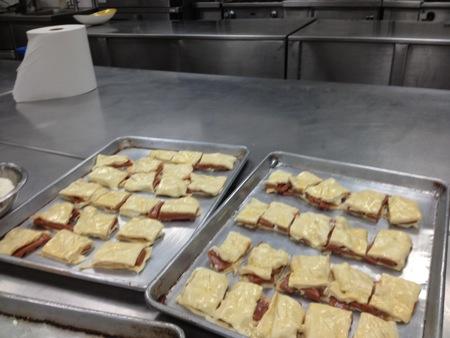 Pastelitos before baking