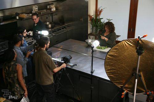 Marta in the kitchen