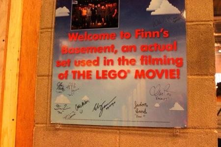 Finn's basement-legoland