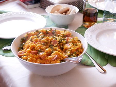 Arroz-con-salchichas-recipe