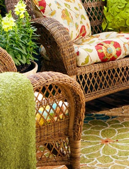 Wicker-furniture