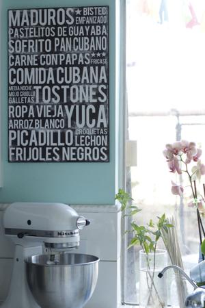 Cuban Poster 16x20