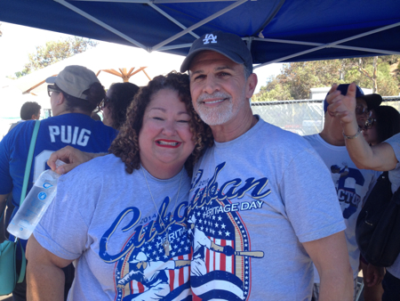Marta-darby-tony-plana-cuban-heritage-day-at-dodger-stadium