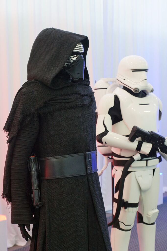 Kylo Ren and Stormtrooper Costumes. Star Wars: The Force Awakens
