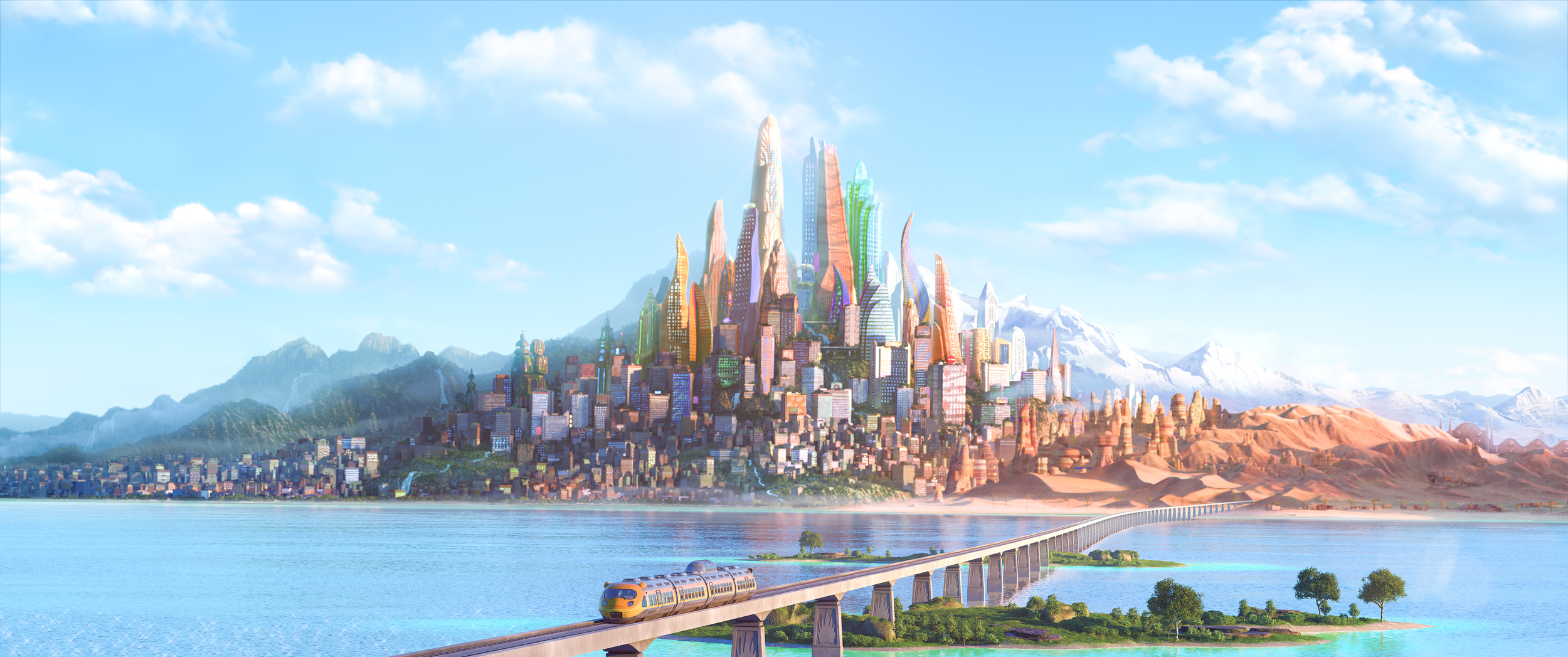 Zootopia - art courtesy of Disney