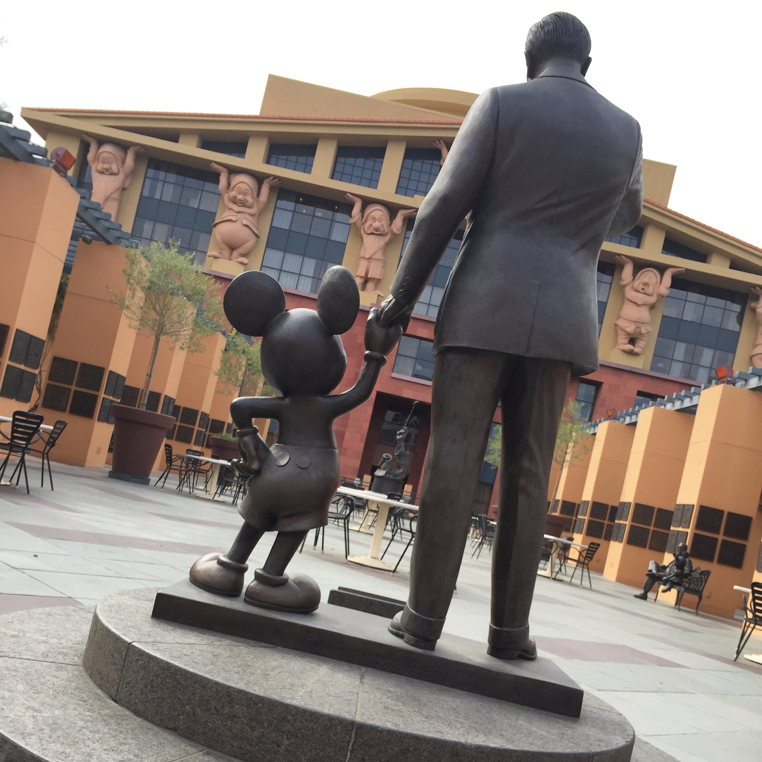 Legends Plaza at Walt Disney Studios. Photo: M.Darby