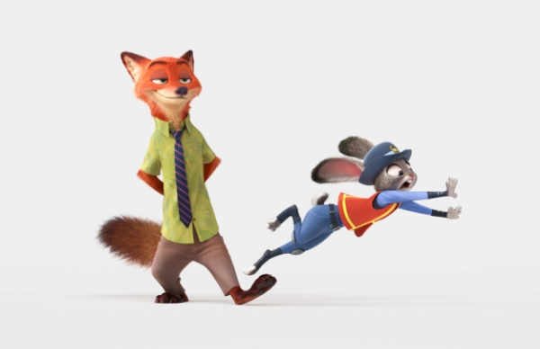 Nick Wilde and Judy Hopps - Disney's Zootopia. photo courtesy of Disney