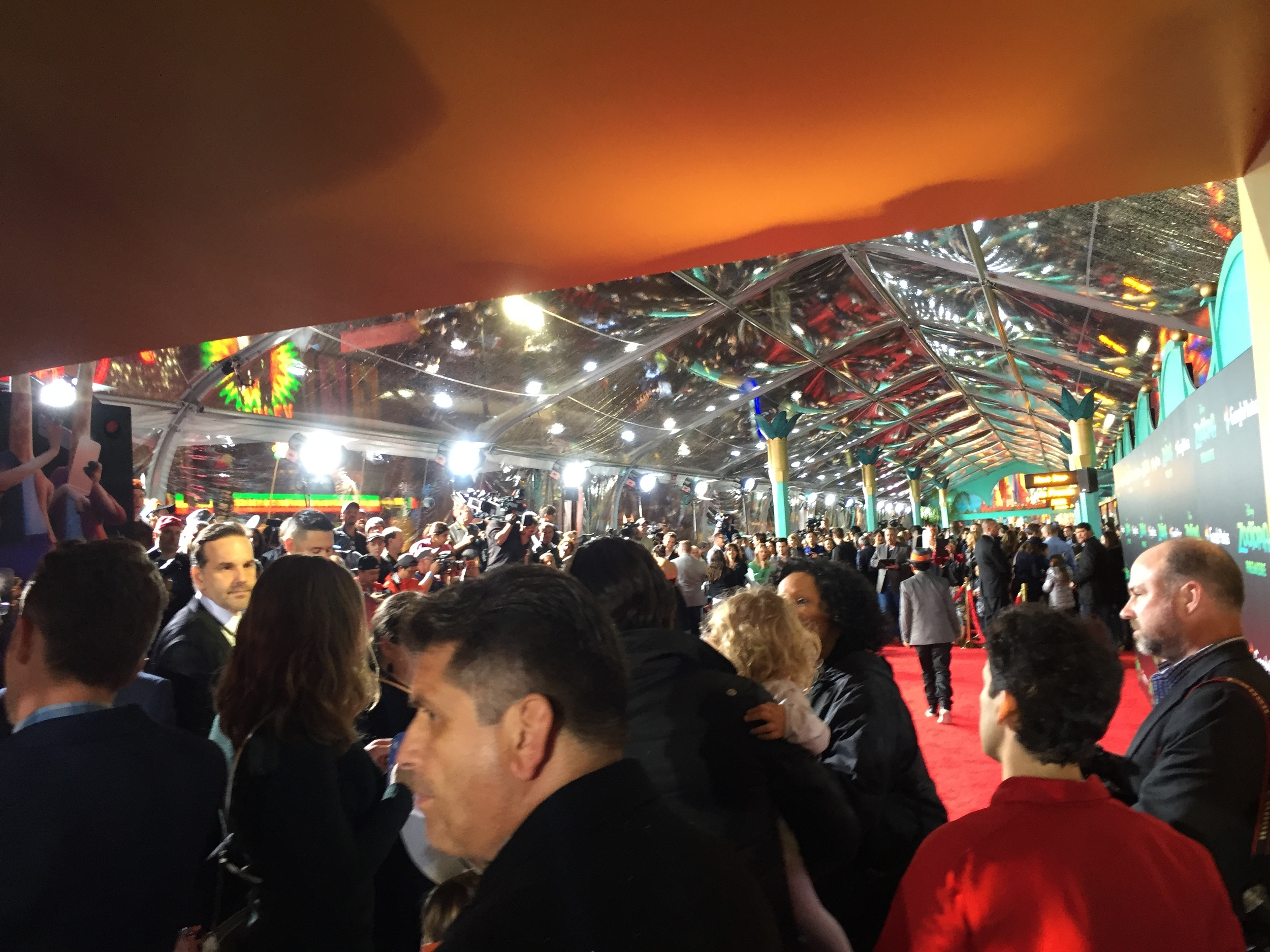 Red Carpet craziness at the Zootopia premiere.