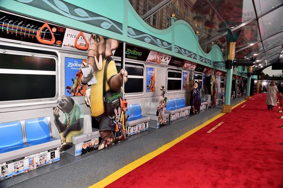 Zootopia Transit Station. Photo courtesy of Disney.